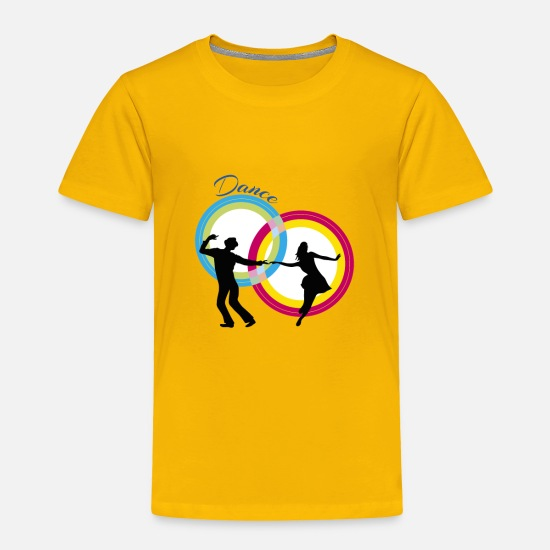 Dancer Baby Clothing - dancers - Toddler Premium T-Shirt sun yellow
