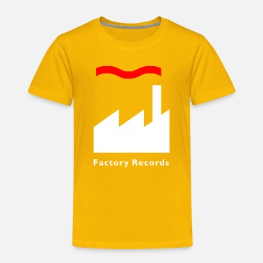 Record Champion Factory Records Retro Record Label Mens Music - Toddler Premium T-Shirt