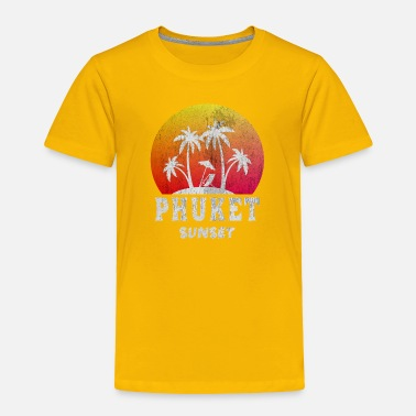 Phuket Phuket sunset - Toddler Premium T-Shirt