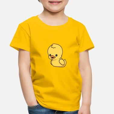 Yellow Little Rubber duck - Toddler Premium T-Shirt