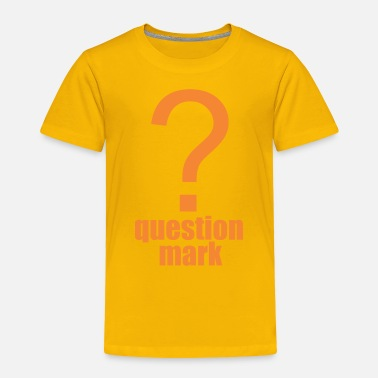 Mark Something question mark - Toddler Premium T-Shirt