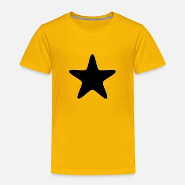Silver 3D Silver Star - Toddler Premium T-Shirt