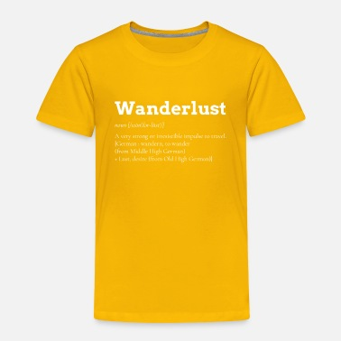 Thailand Wanderlust Backpacker Vacation Travel - Toddler Premium T-Shirt