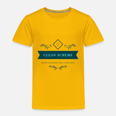 Clean What It Is CLEAN SCHEME OFFICIAL - Toddler Premium T-Shirt