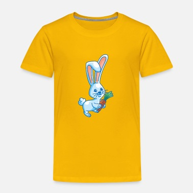 Cartoon Rabbit cartoon rabbit - Toddler Premium T-Shirt