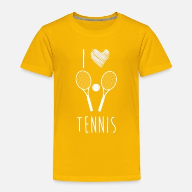 Pro I Love Tennis, Best Shirts For Tennis Lover - Toddler Premium T-Shirt