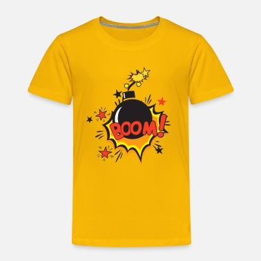 Comic Book Comic - Boom - Toddler Premium T-Shirt