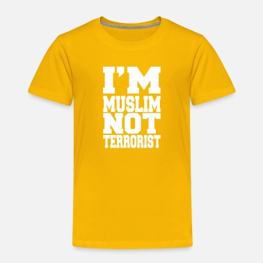 Tradition I´m a Muslim not terrorist - Toddler Premium T-Shirt