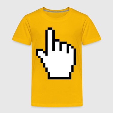 Mouse cursor hand - Toddler Premium T-Shirt