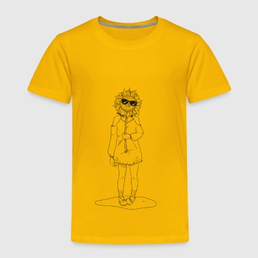 Yellow. - Toddler Premium T-Shirt