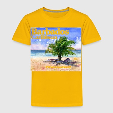 Barbados Beach - Toddler Premium T-Shirt