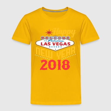 Las Vegas Happy New Year t shirt - Toddler Premium T-Shirt