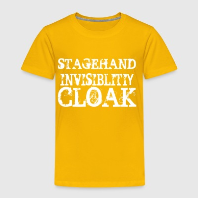 Stagehand Invisibility Cloak - Toddler Premium T-Shirt