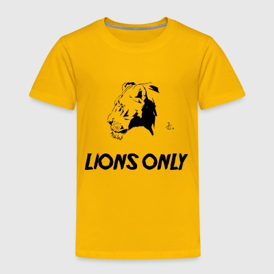 Lions Only (Fem) - Toddler Premium T-Shirt