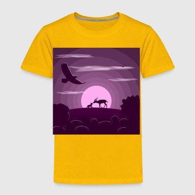 Night wild life - Toddler Premium T-Shirt