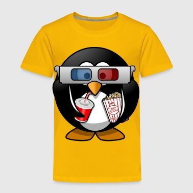 cinema penguin - Toddler Premium T-Shirt