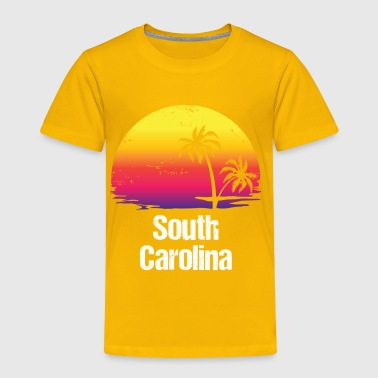 Summer Vacation South Carolina Shirts - Toddler Premium T-Shirt