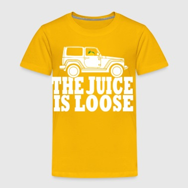 The Juice Is Loose - Toddler Premium T-Shirt