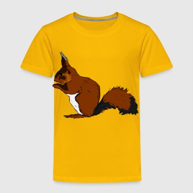 squirrel - Toddler Premium T-Shirt