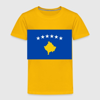 Kosovo country flag love my land patriot - Toddler Premium T-Shirt