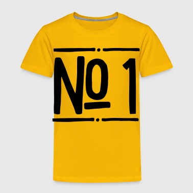 2541614 15757991 no 1 - Toddler Premium T-Shirt