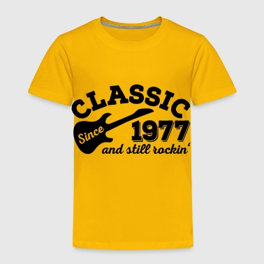 2541614 132914995 Classic since 1977 - Toddler Premium T-Shirt