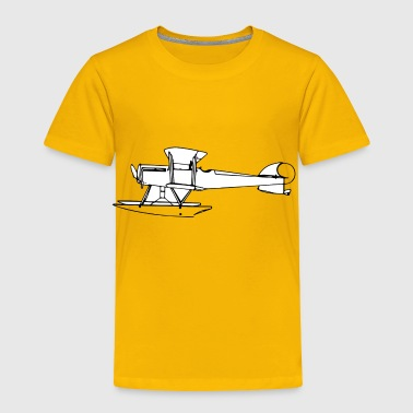 seaplane flugzeug airplane aeroplane fliegen2 - Toddler Premium T-Shirt