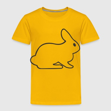White Rabbit - Toddler Premium T-Shirt