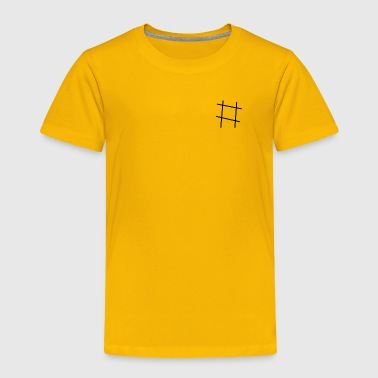 hashtag - Toddler Premium T-Shirt