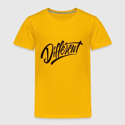 DIFFERENT - Toddler Premium T-Shirt