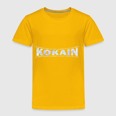 LOVE TECHNO GESCHENK goa pbm KOKAIN JUMPSTYLE - Toddler Premium T-Shirt