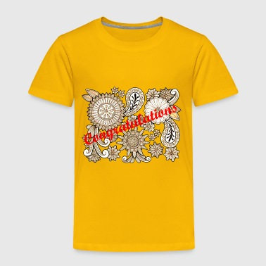 Congratulations - Toddler Premium T-Shirt
