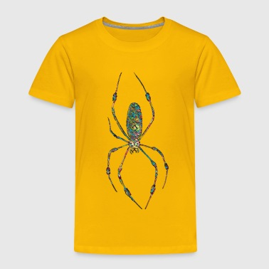 colorful spider mosaic - Toddler Premium T-Shirt