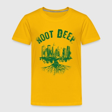 Root deep urban green - Toddler Premium T-Shirt