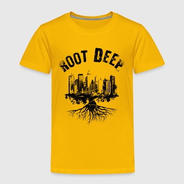 Root deep urban black - Toddler Premium T-Shirt