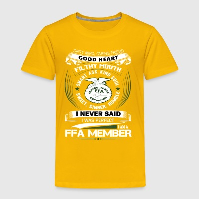 i_am_a_ffa_member - Toddler Premium T-Shirt