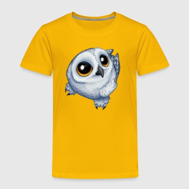 Snow Owl - Toddler Premium T-Shirt