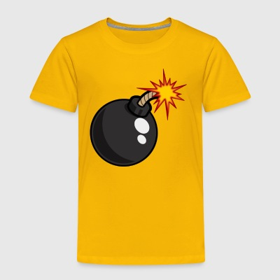 Black bomb - Toddler Premium T-Shirt