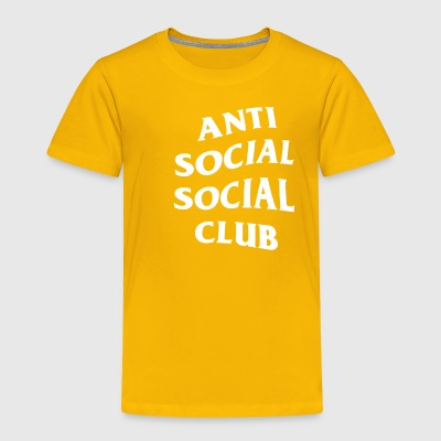 Anti Social Club - Toddler Premium T-Shirt