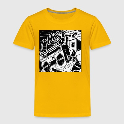 oldskool - Toddler Premium T-Shirt