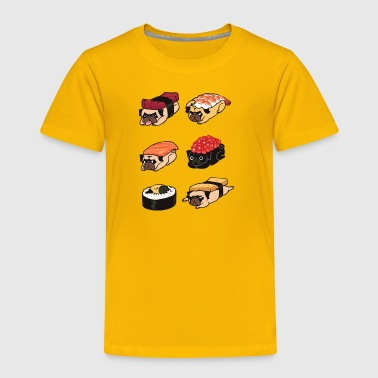 Sushi Pug - Toddler Premium T-Shirt