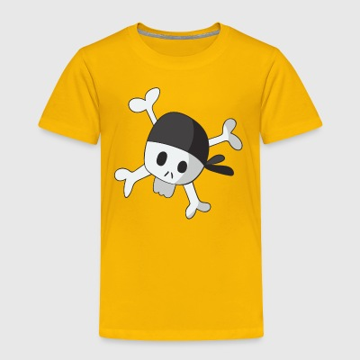 skull 2 - Toddler Premium T-Shirt