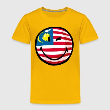 SmileyWorld Malaysian Flag - Toddler Premium T-Shirt
