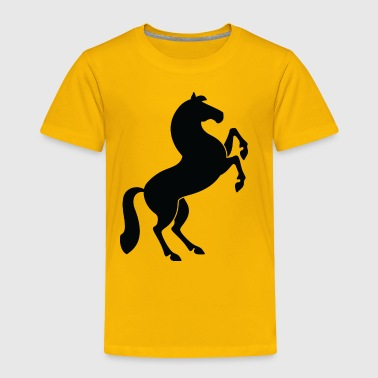 A Jumping Horse - Toddler Premium T-Shirt