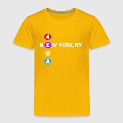 new york underground subway fan - Toddler Premium T-Shirt