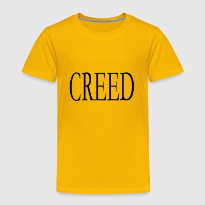 Creed - Greek Collection - Toddler Premium T-Shirt