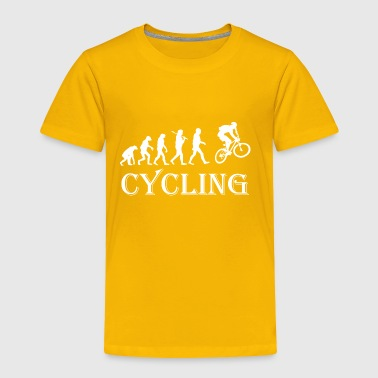 Cycle Evolution Cycling - Toddler Premium T-Shirt