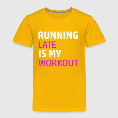 Funny workout designs - Toddler Premium T-Shirt