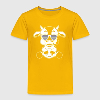Cow Tee Shirt - Toddler Premium T-Shirt