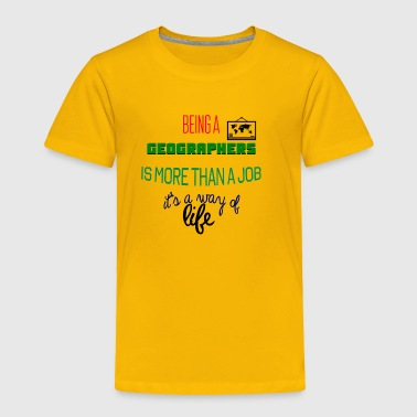 Being geographers - Toddler Premium T-Shirt